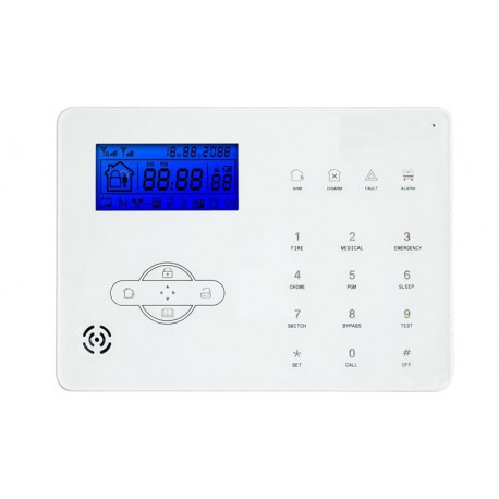 Centralina PowerTouch GSM PSTN 868Mhz Supervisionata