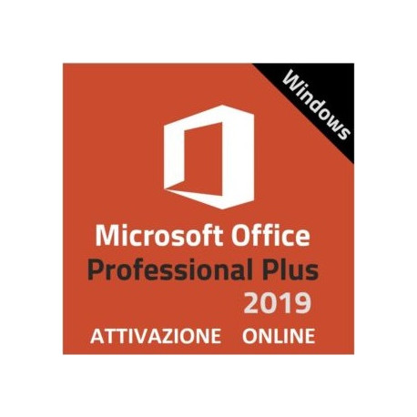 Licenza Microsoft Office Professional Plus 2019 not bind (ESD)