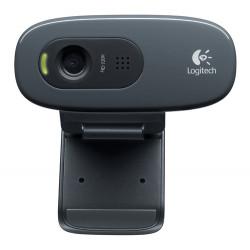 LOGITECH WEBCAM HD C270 USB 3MPX 1280X720 FLUID CRYSTAL MICROFONO INCORPORATO CLIP FISSAGGIO