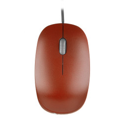 NGS MOUSE OTTICO USB 1000DPI 3 TASTI ROSSO