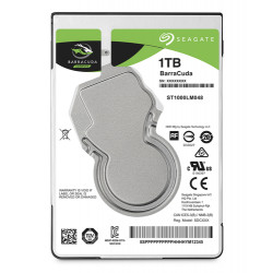 SEAGATE HDD BARRACUDA 1TB 2,5 5400RPM SATA3 128MB CACHE