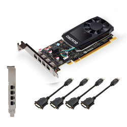 PNY VGA QUADRO P1000 V2 4GB GDDR5 4X DP LOW PROFILE